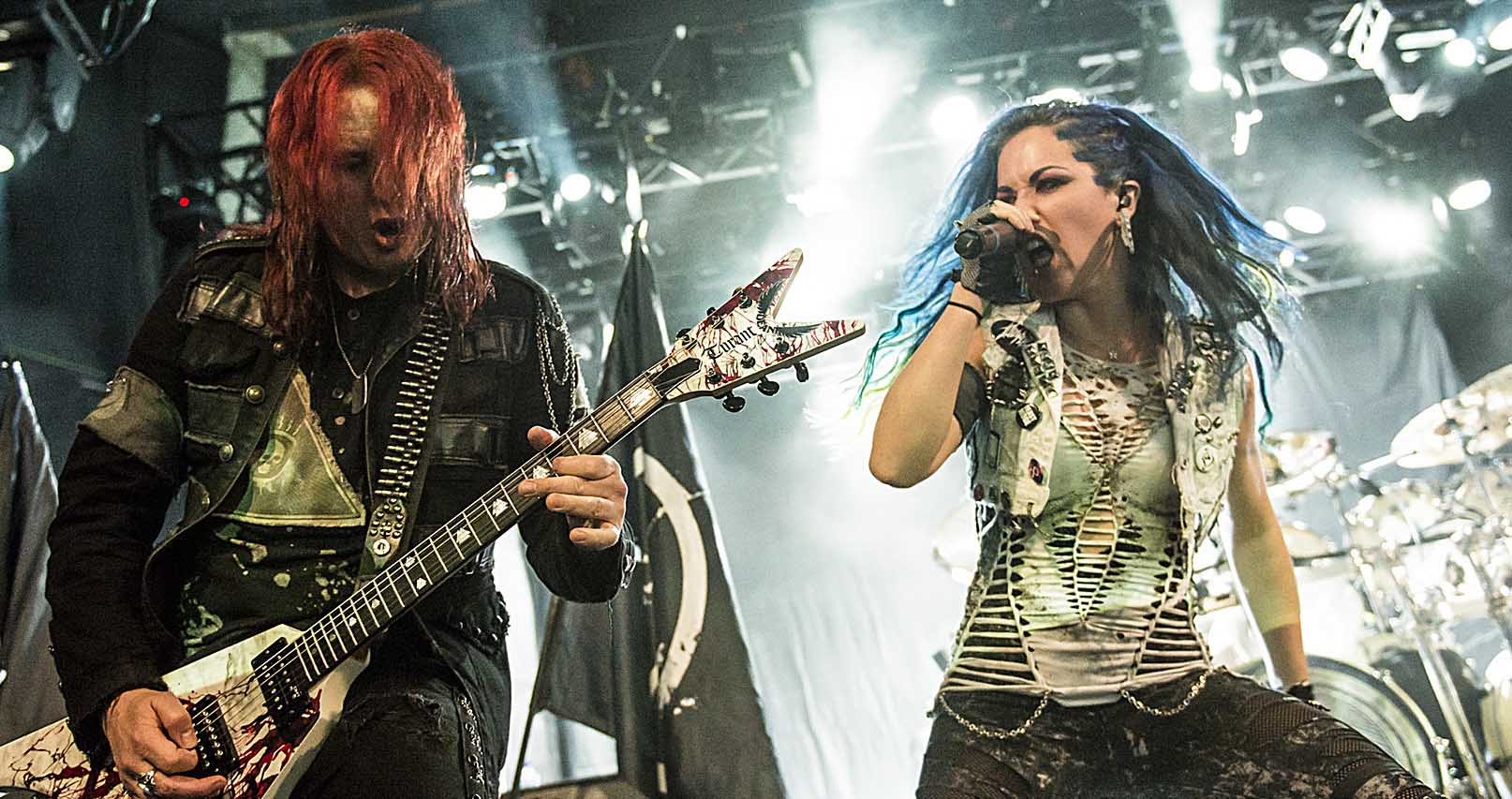 Arch Enemy – 3 de Febrero'15 – Sala Blondie (Santiago de Chile)
