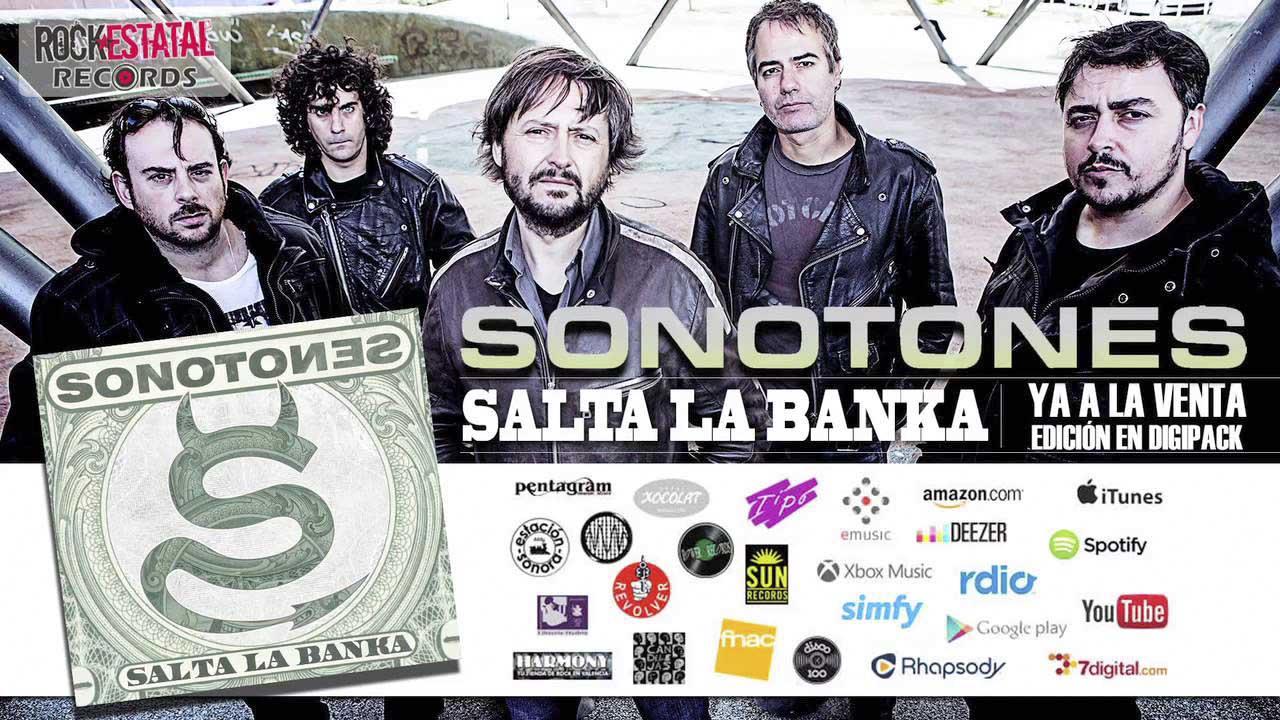 Sonotones: Salta la Banka // Rock Estatal Records