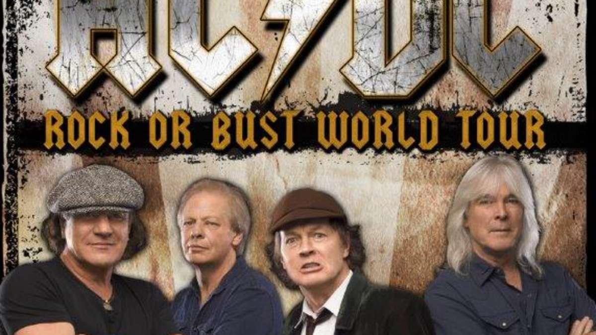 AC/DC agotan las entradas de todos sus conciertos en España