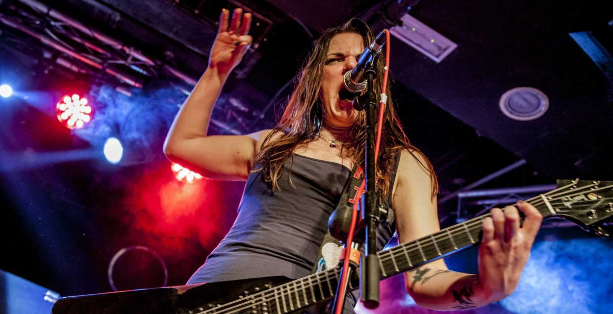 Crucified Barbara + Lizzies – 3 de diciembre'14 – Sala Independance (Madrid)
