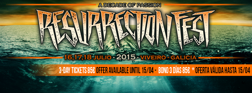 La final del Resurrection Fest Band Contest Estrella Galicia este fin de semana en Madrid