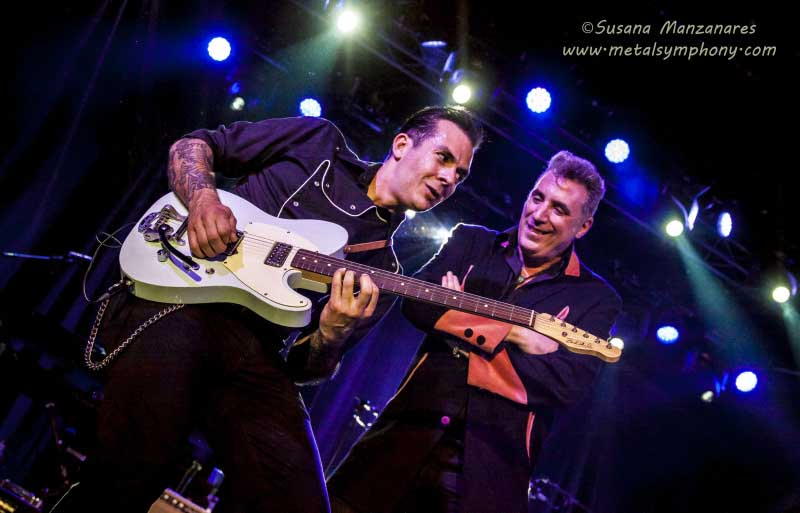 Loquillo y Nu Niles en el Guitar Festival BCN'15