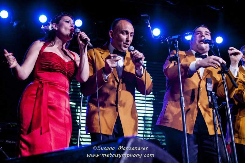 Loquillo & Nu Niles + The Velvet Candles - 23 de Abril'15 - Sala La Riviera (Madrid)