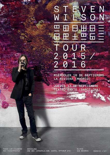Gira española de Steven Wilson