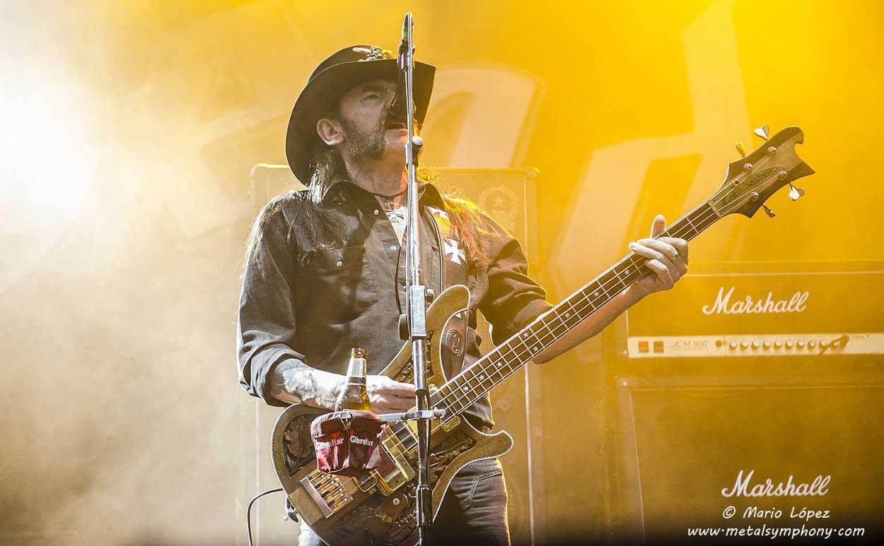 Motörhead, Saxon y Girlschool de gira por España al Rock Fest BCN on tour'16
