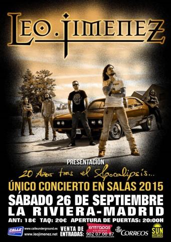 Detalles del concierto de LEO en Madrid
