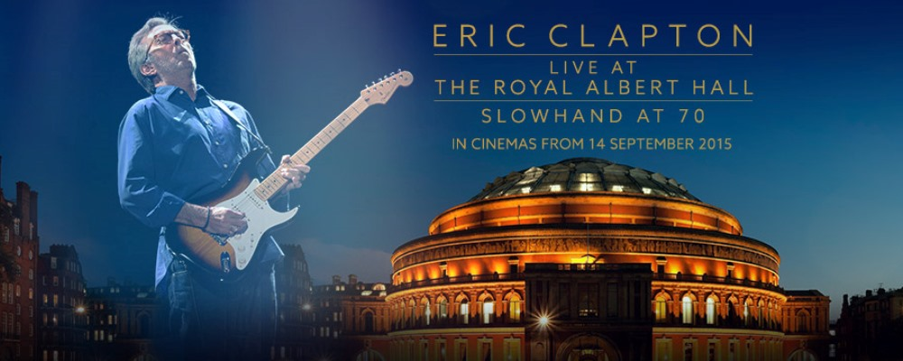 «Eric Clapton: Live at the Royal Albert Hall» en cines