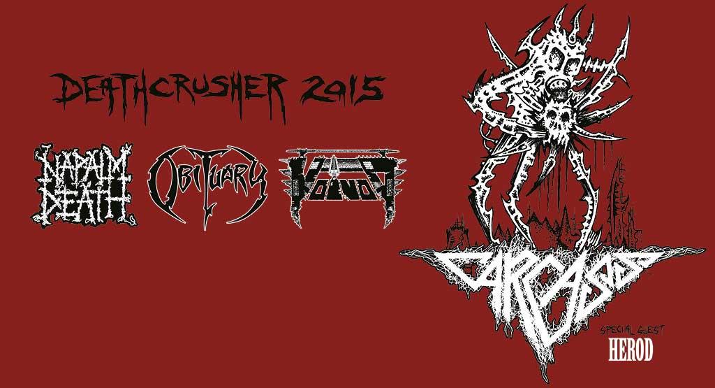 Detalles del paso del Deathcrusher Tour por España