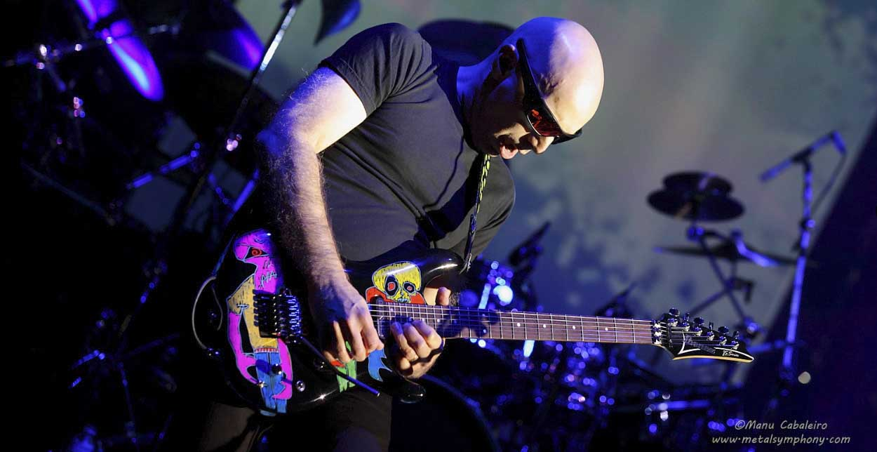 Joe Satriani, Nightwish, Amaranthe, Black Swan, Boulevard, Steve Hackett…