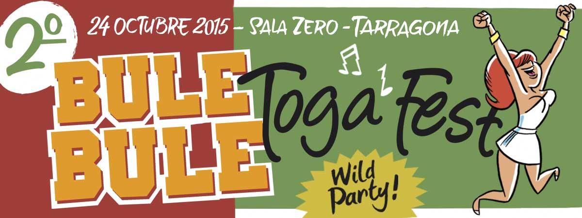Detalles del 2º Bule Bule Toga Fest en Tarragona