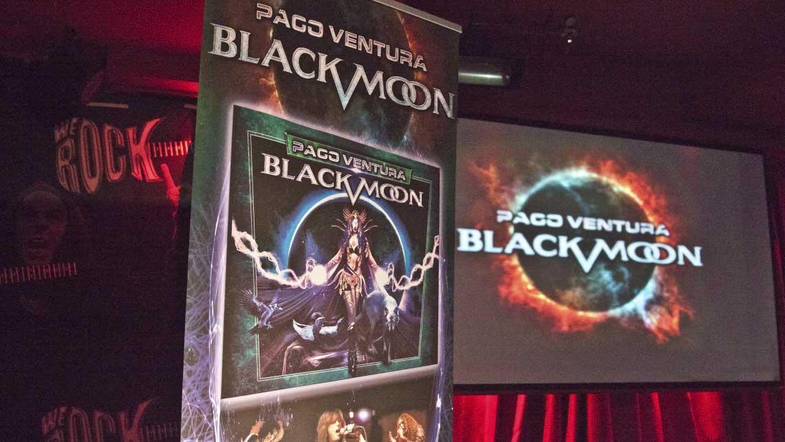 Presentación del primer disco de Paco Ventura Black Moon – 29 de octubre'15 – Sala We Rock (Madrid)