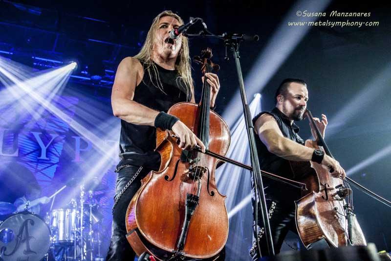 Apocalyptica + Tracer -  4 de noviembre'15 - Sala La Riviera (Madrid)