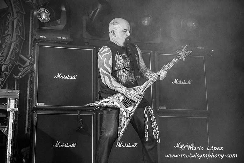Slayer + Anthrax + Kvelertak -1de Noviembre'15 - Sala  La Riviera (Madrid)