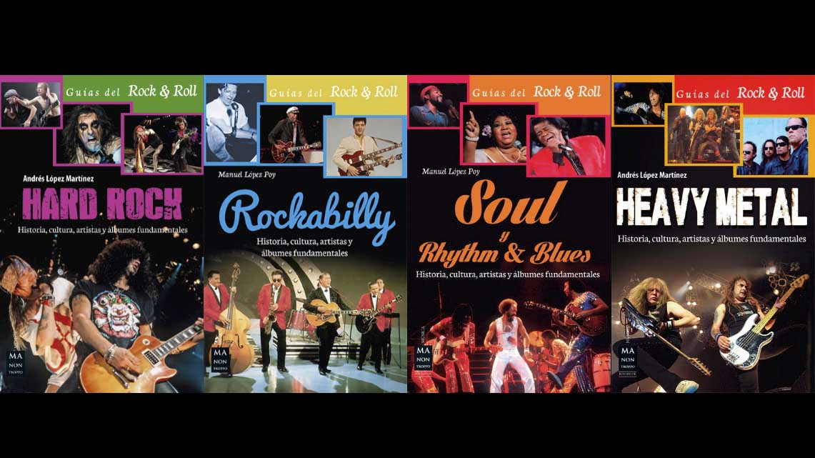 Guías del Rock & Roll – VV.AA // Ma Non Troppo (Redbook ediciones)