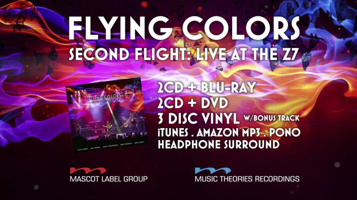Flying Colors: Second Flight: Live at the Z7 // Mascot Records
