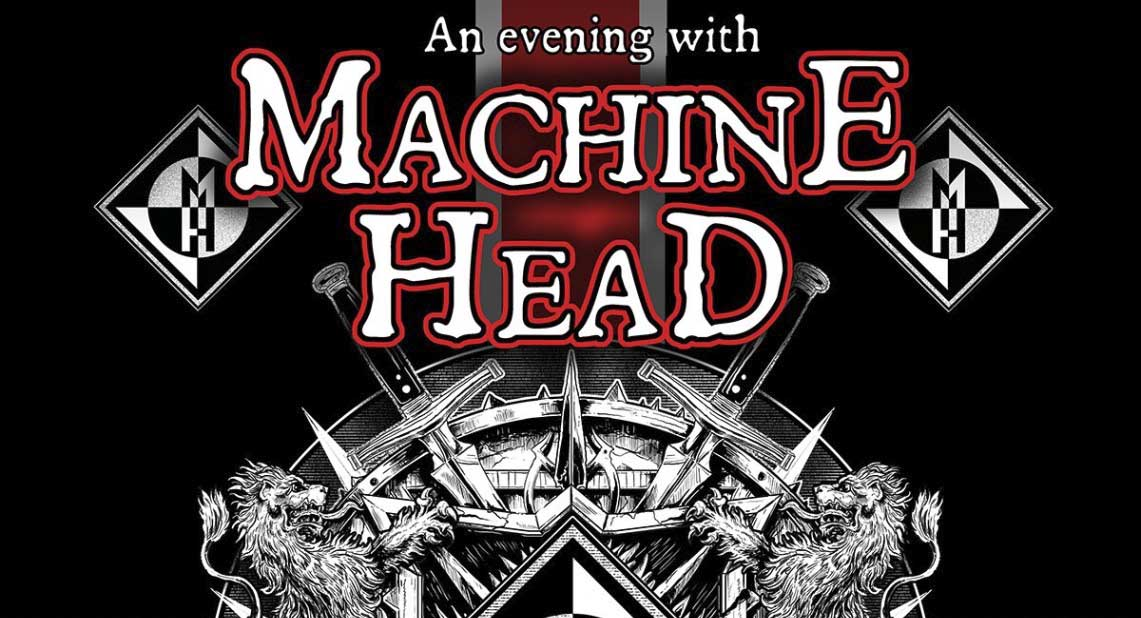 Machine Head llegan este fin de semana a España