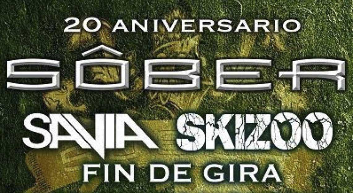 Se acerca el fin de la gira del 20 aniversario de Sôber