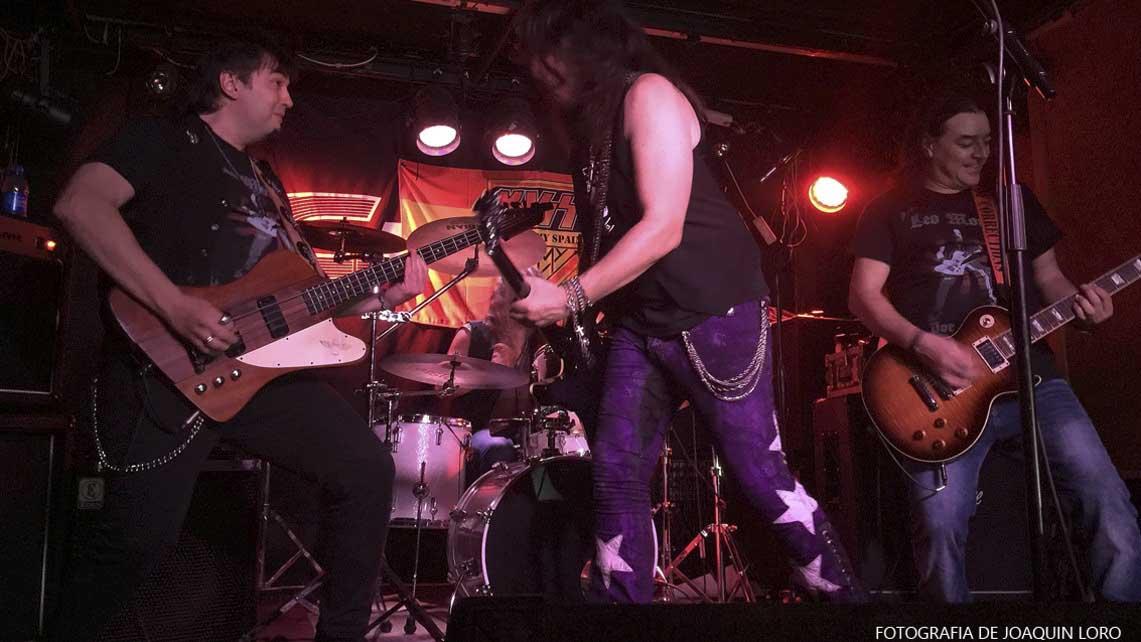 Sebastian Gava + Dizzel + Kiss Fever Band – 20 de Noviembre'15  – Sala Gruta 77 (Madrid)
