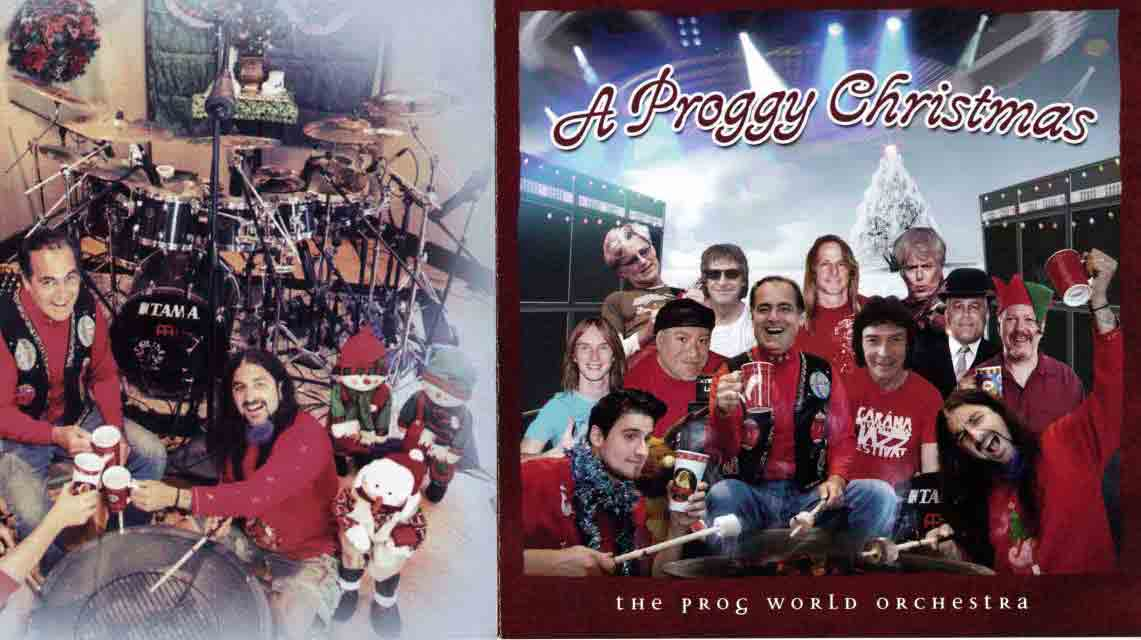 The Prog world Orchestra: A proggy Christmas //Radiant Records