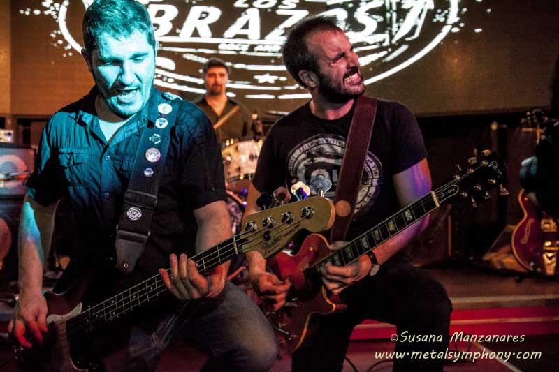 Los Brazos - 29 de Enero'16 - Sala Boite Live (Madrid)