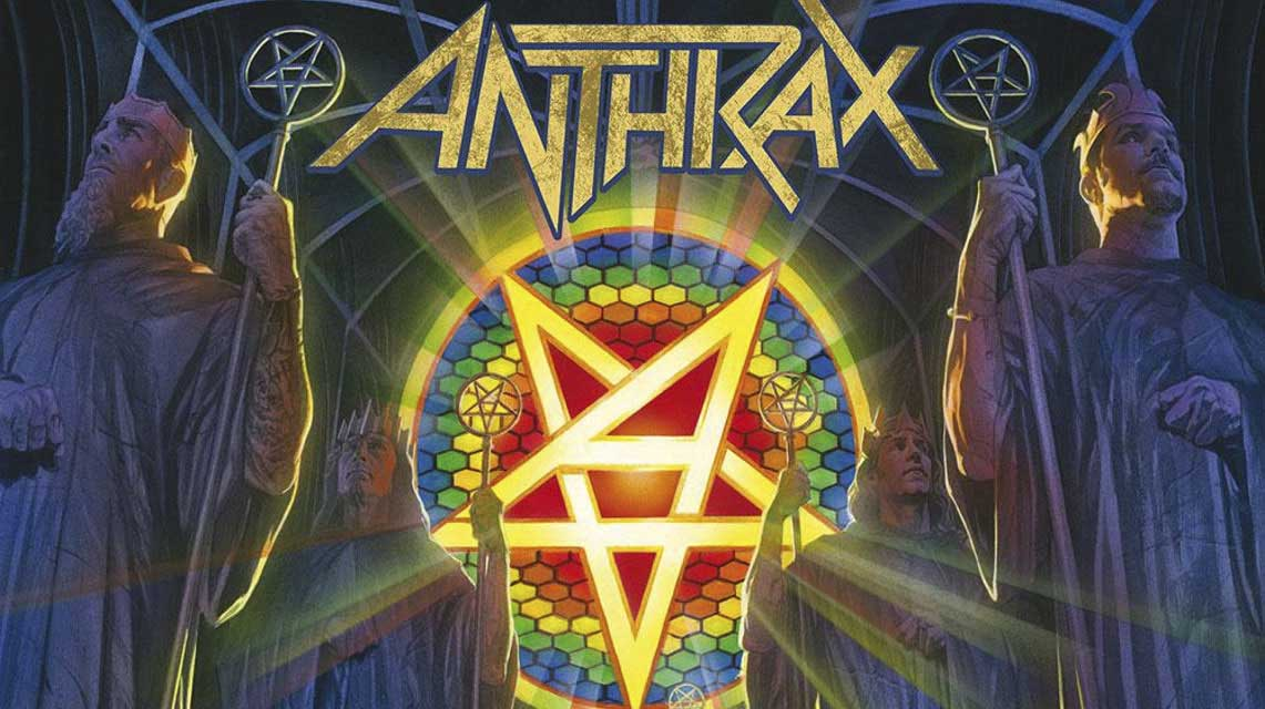Anthrax : For All Kings // Nuclear Blast