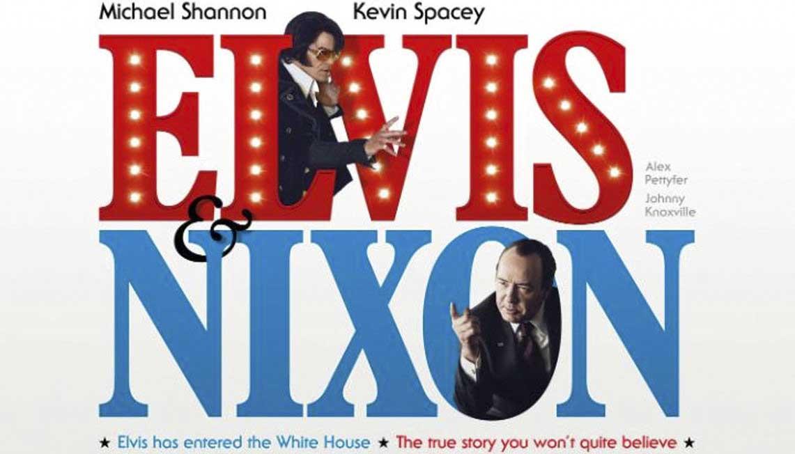 El mes que viene Elvis & Nixon en cines