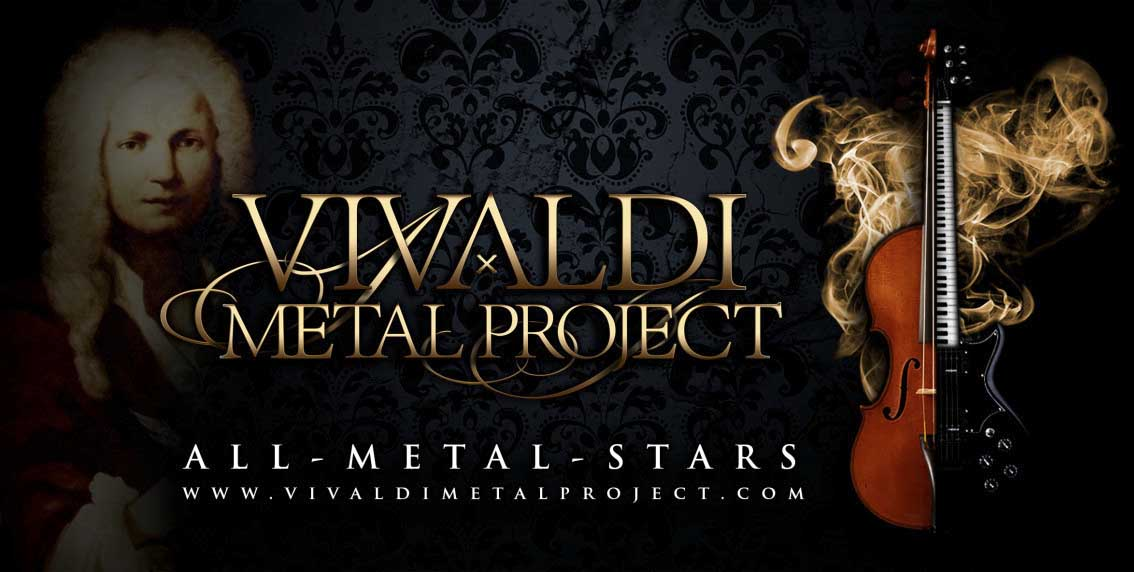 Vivaldi Metal Project: The Four Seasons // Pride & Joy Music (Germusica)