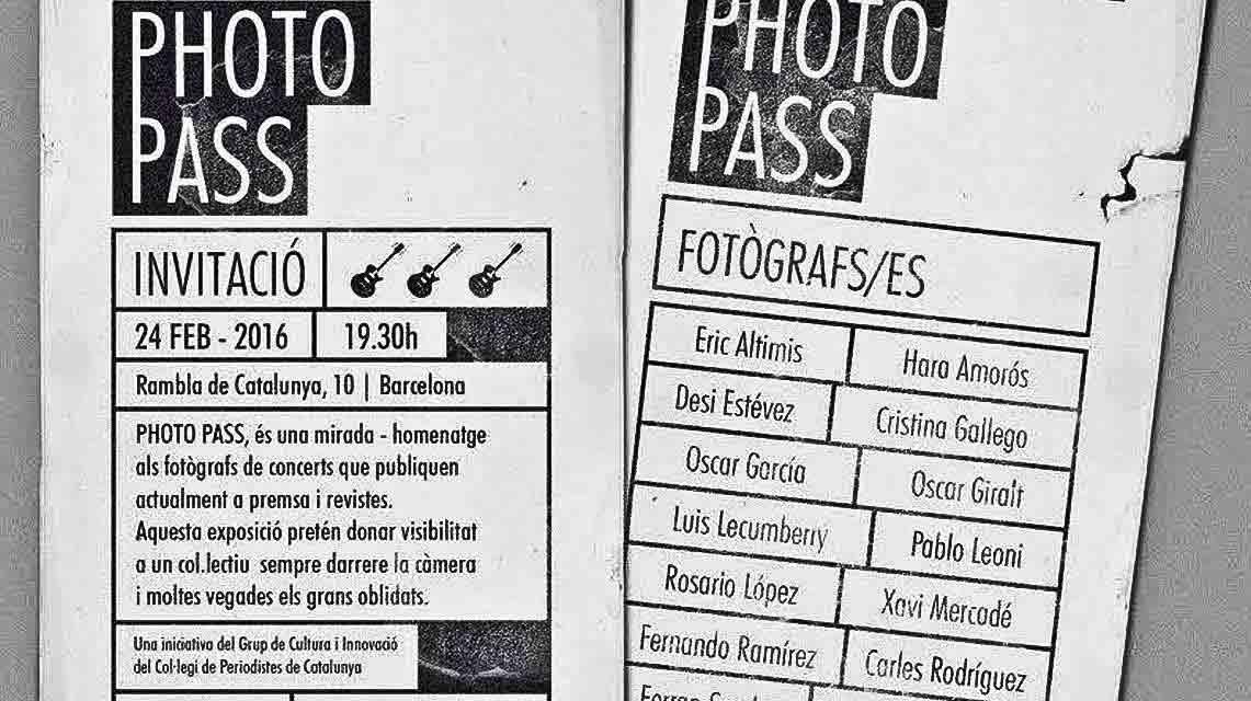Última semana para la exposición «Photo pass», hablamos con sus participantes