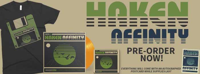 Haken : Affinity // InsideOut Music