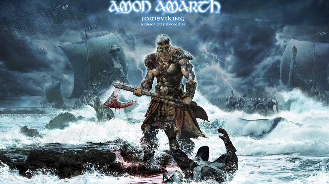 Amon Amarth: Jomsviking // Metal Blade Records
