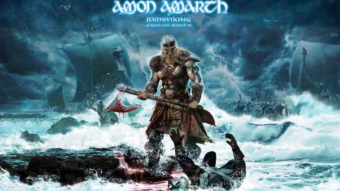 Amon Amarth: Jomsviking // Metal Blade Records