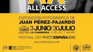"""All Access"" de Juan Pérez-Fajardo ya disponible en La Fiambrera (Madrid)"
