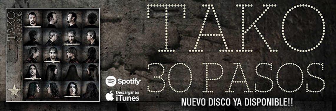 "Tako: ""30 Pasos"" // Maldito Records"