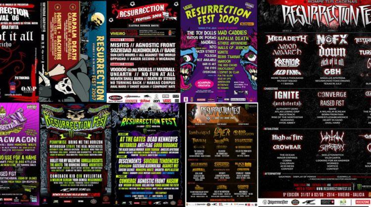 Resurrection  Fest - Un poco de historia