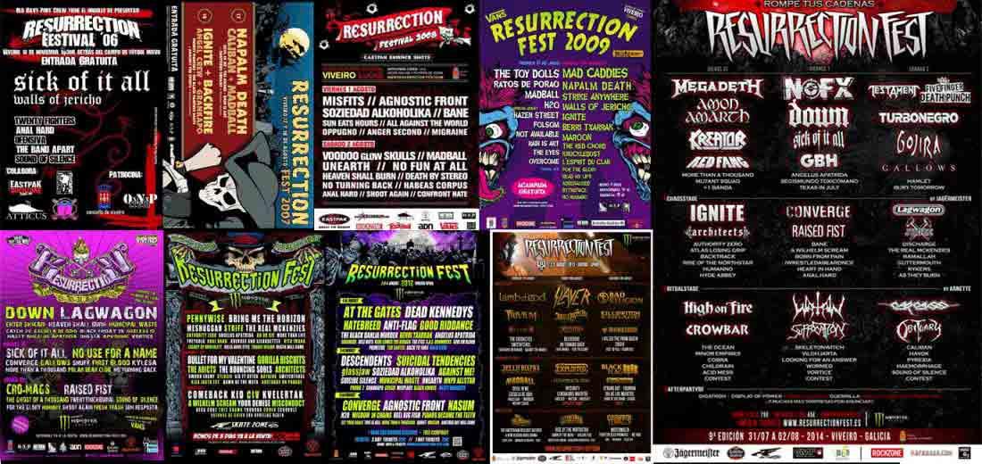 Resurrection  Fest – Un poco de historia