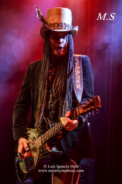 Blues Rock de alto voltaje en Las Armas
