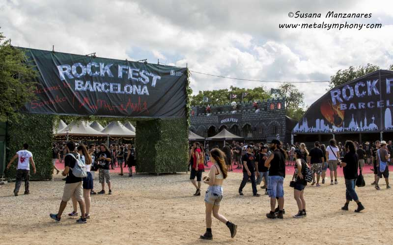 Rock Fest Bcn'17, Crisix, Tyr, Civil War, Jorge Salán, Journey....