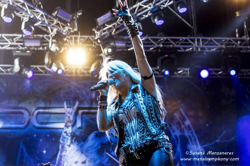 La Doncella de Hierro despliega su poder en el Rock Fest BCN'16