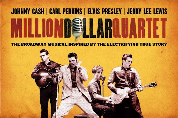 El cuarteto del millón de dólares, el primer supergrupo de la historia
