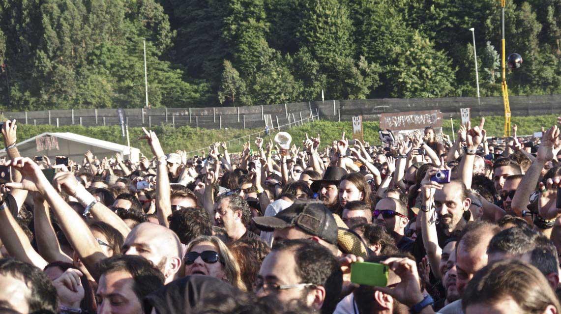 Resurrection Fest'16: Iron Maiden demuestra la razón de su leyenda, Abbath no tiene su noche y Bullet For My Valentine se rencuentra con su público…