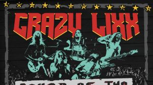 Crazy Lixx : Sound of the LIVE Minority // Frontiers Records