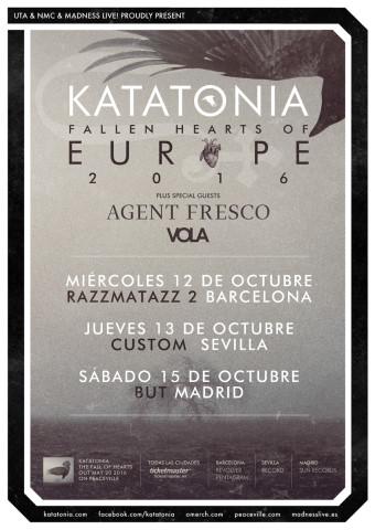 Gira española de Katatonia