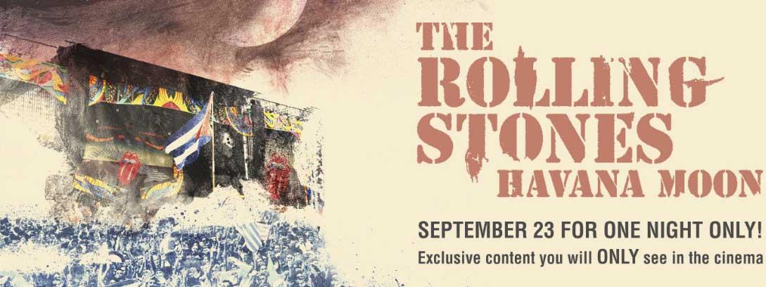 «Havana Moon: The Rolling Stones Live in Cuba» este viernes en cines