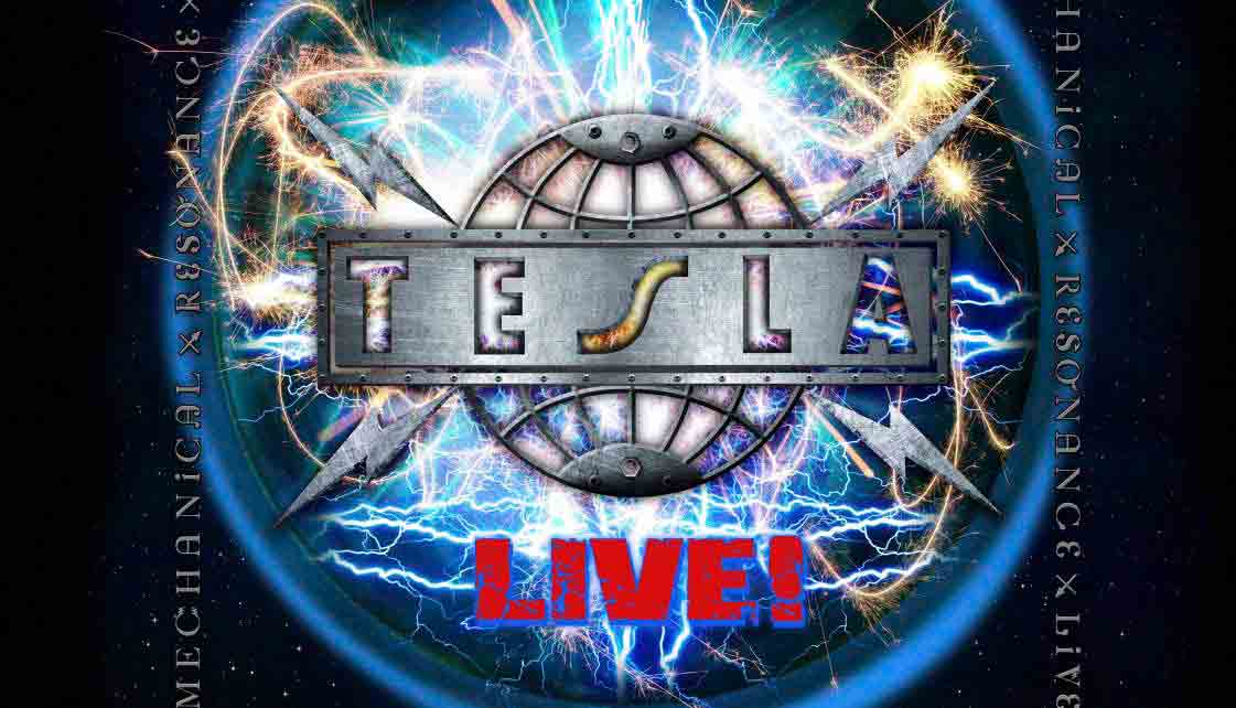 Tesla : Mechanical Resonance, Live! // Frontiers Records
