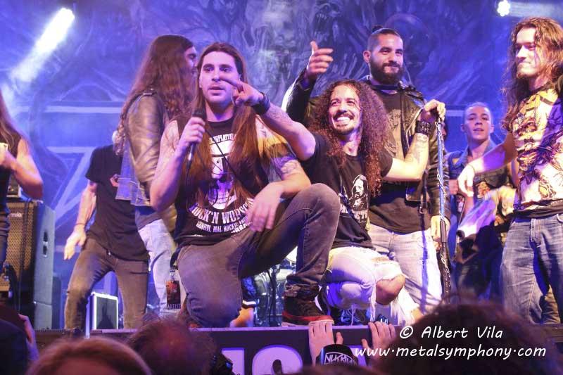 Unos inconmensurables y festivos Crisix lideran la mejor noche de thrash metal del año en Barcelona