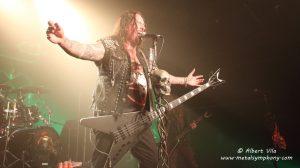 Destruction y F&Jetsam demuestran en Barcelona que el thrash metal sigue más en forma que nunca