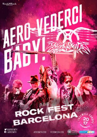 "Fechas confirmadas de Aerosmith en España en su ""AERO-VEDERCI BABY"",su gira europea de despedida en 2017"