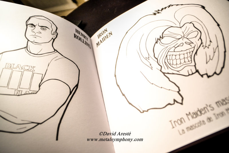 Dorable El Libro De Colorear Indie Rock Modelo - Páginas Para ...