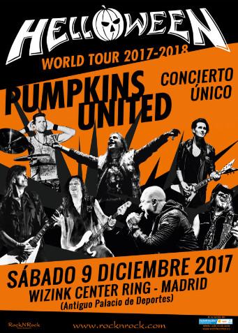 """Detalles del único concierto en Madrid de """"Pumpkins United"""", la reunión de Helloween"""