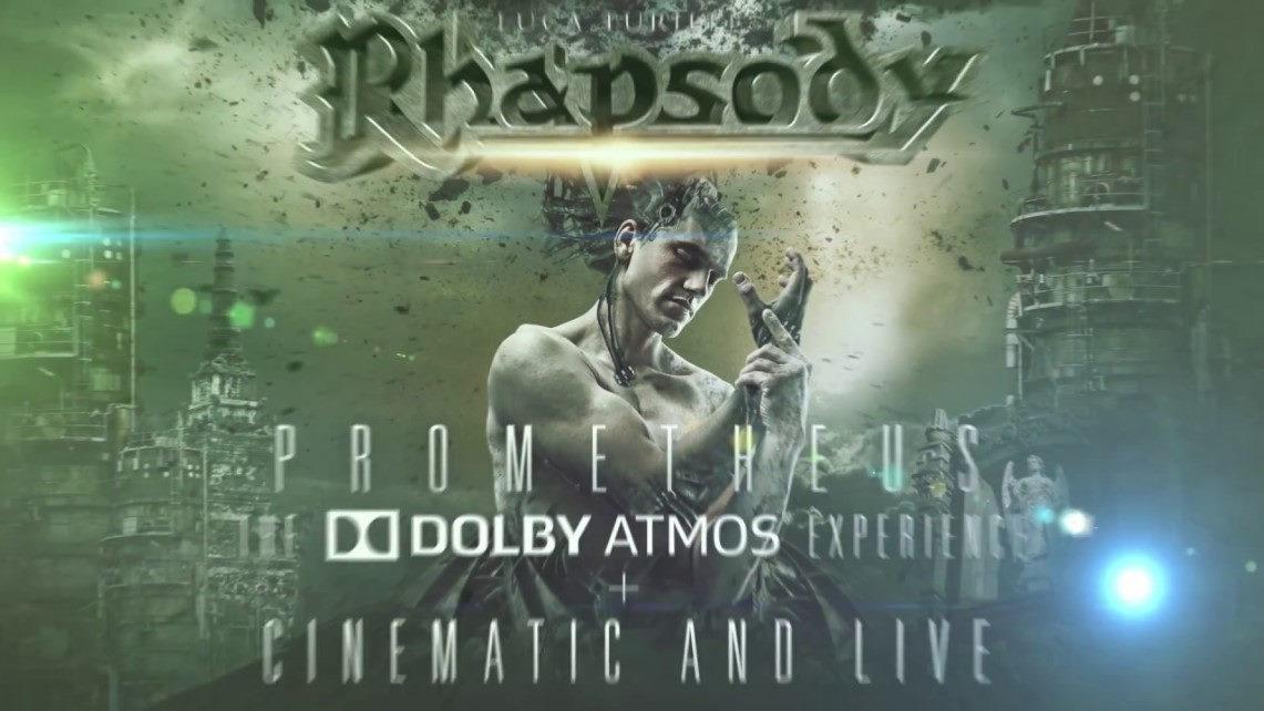 Luca Turilli's Rhapsody: Prometheus Cinematic & Live // Nuclear Blast